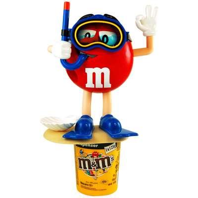 Диспенсер спортсмены M&M's Peanut Dispenser и конфеты 125 гр, фото 7
