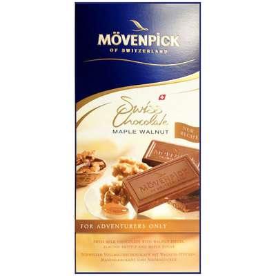 Молочный шоколад с грецким орехом Movenpick 70 гр, фото 1