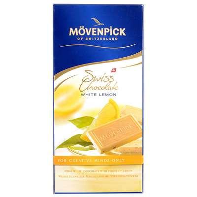 Белый шоколад с лимоном Movenpick 70 гр, фото 1