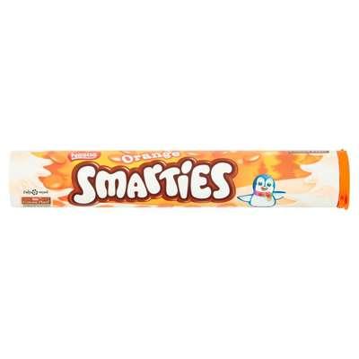 Драже шоколад с апельсином Smarties Orange Nestle 130 гр, фото 1
