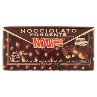 Горький шоколад с целыми лесными орехами Novi 130 гр, фото 1