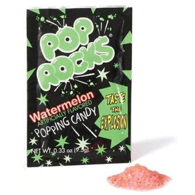 Pop Rocks Watermelon Конфеты шипучие 9,5 гр, фото 2