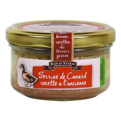 Паштет из утки по старинному рецепту Jean de Veyrac 130 гр, фото 1