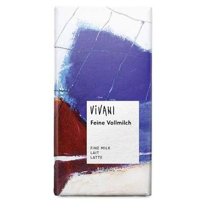 Шоколад органик молочный Vivani 100 гр, фото 1