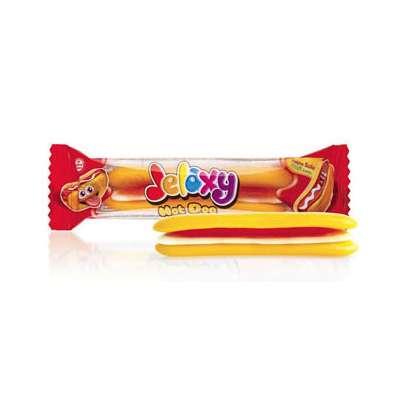 Жевательный мармелад с фруктовым соком Хот-Дог Jelaxy 20 гр, фото 1