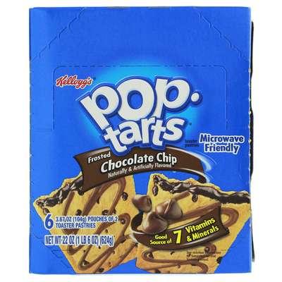 Печенье с шоколадной начинкой Chocolate Chip Pop-Tarts 104 гр, фото 2