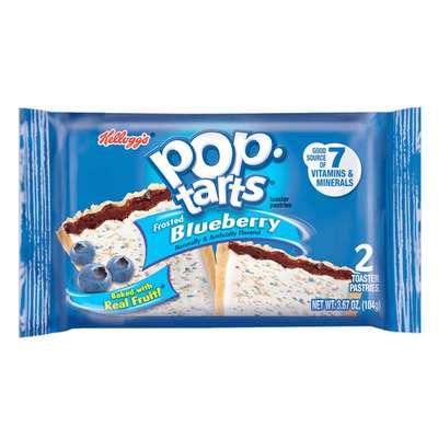 Печенье с черничной начинкой Frosted Blueberry Pop-Tarts 104 гр, фото 1