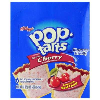 Печенье с начинкой вишня Frosted Cherry Pop-Tarts 104 гр, фото 2