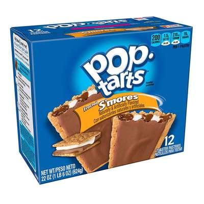 Печенье с начинкой зефир и шоколад Frosted S'mores Pop-Tarts 104 гр, фото 2