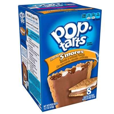 Печенье с начинкой зефир и шоколад Frosted S'mores Pop-Tarts 104 гр, фото 3