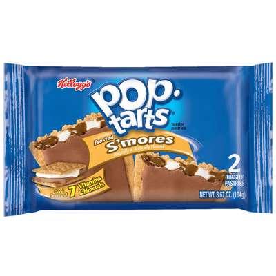 Печенье с начинкой зефир и шоколад Frosted S'mores Pop-Tarts 104 гр, фото 1