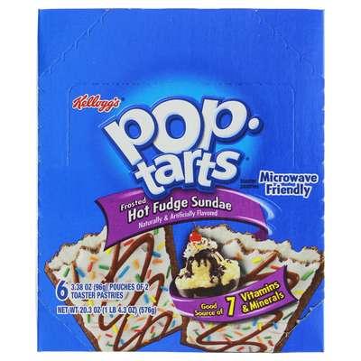 Печенье с начинкой горячий пломбир Hot Fudge Sundae Pop-Tarts 96 гр, фото 2