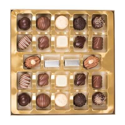 Шоколадные премиальные конфеты Medium Luxury Belgian Chocolates Cachet 315 гр, фото 2