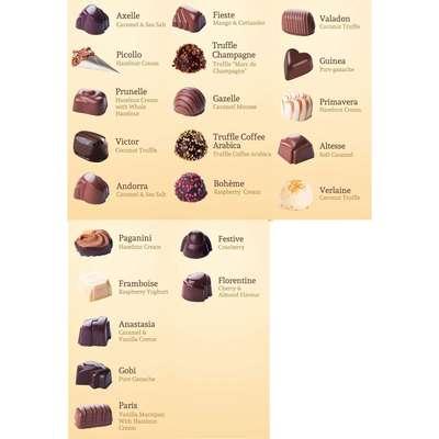 Премиальные шоколадные конфеты Large Luxury Belgian Chocolates Cachet 600 гр, фото 3