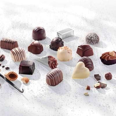 Премиальные шоколадные конфеты Large Luxury Belgian Chocolates Cachet 600 гр, фото 4