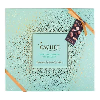 Премиальные шоколадные конфеты Large Luxury Belgian Chocolates Cachet 600 гр, фото 1