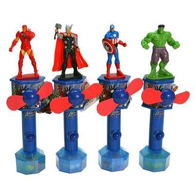 Герой Мстители с вентилятором и конфетами Candy Fan 15 гр, фото 6