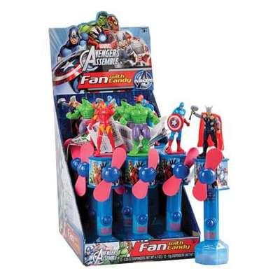 Герой Мстители с вентилятором и конфетами Candy Fan 15 гр, фото 8
