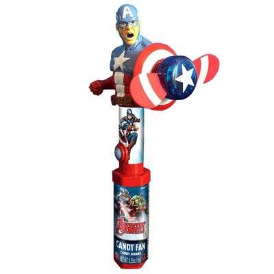 Герой Мстители с вентилятором и конфетами Candy Fan 15 гр, фото 2