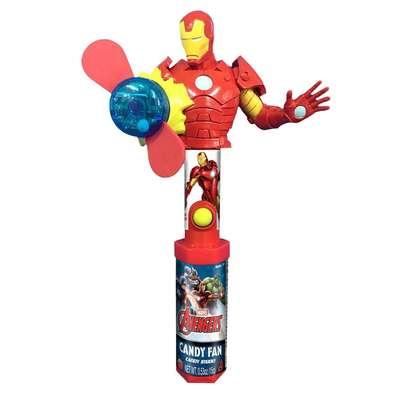 Герой Мстители с вентилятором и конфетами Candy Fan 15 гр, фото 3