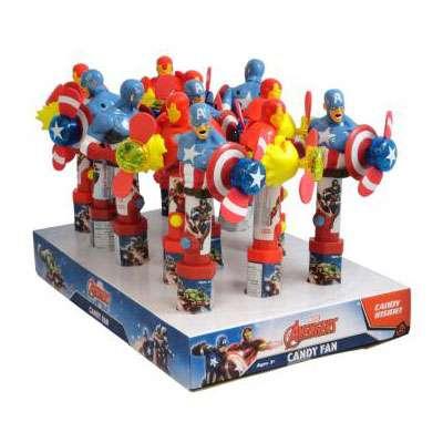 Герой Мстители с вентилятором и конфетами Candy Fan 15 гр, фото 4