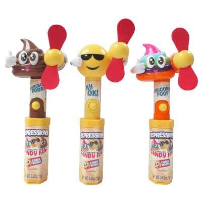 Эмоджи вентилятор и конфеты Expressions Everyday Candy Fan 15 гр, фото 1