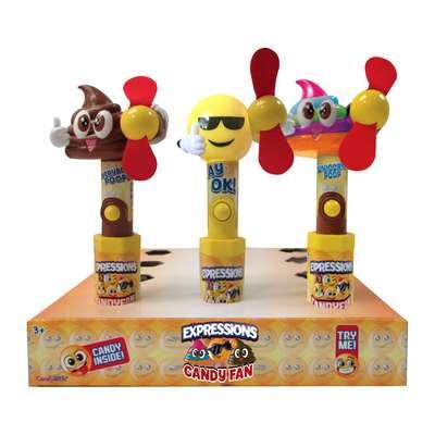 Эмоджи вентилятор и конфеты Expressions Everyday Candy Fan 15 гр, фото 3