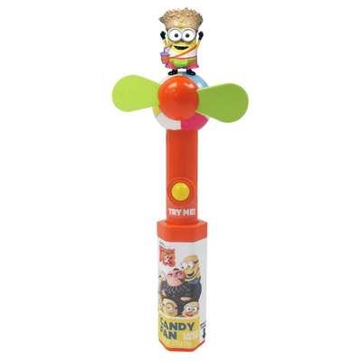 Миньон вентилятор и конфеты Minions Despicable ME 3 Candy Fan 16 гр, фото 1
