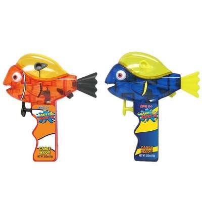 Водный пистолет Рыбка и конфеты Go Fish Squirt Sour Candy Fan 15 гр, фото 1