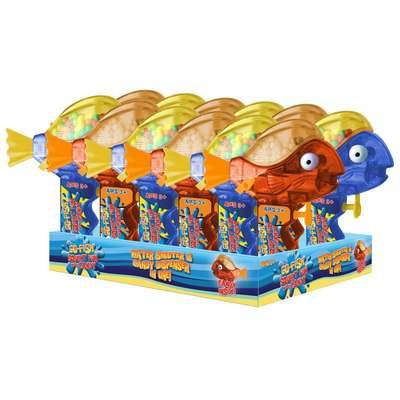 Водный пистолет Рыбка и конфеты Go Fish Squirt Sour Candy Fan 15 гр, фото 2