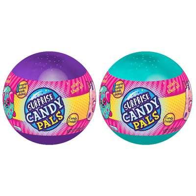 Шар с мягкой игрушкой и конфетами Surprise Candy Pals Candy Fan 10 гр, фото 1