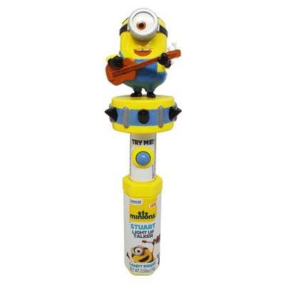 Миньоны Стюарт свет и звук с игрушкой Minions Stuart Candy Fan 83 гр, фото 1
