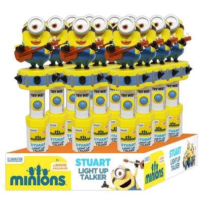 Миньоны Стюарт свет и звук с игрушкой Minions Stuart Candy Fan 83 гр, фото 2