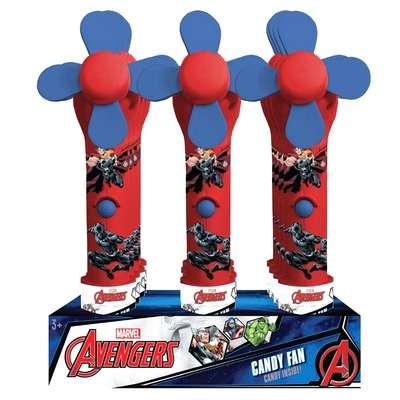 Мститель вентилятор с водой и конфеты Avenger Mister Candy Fan 10 гр, фото 2