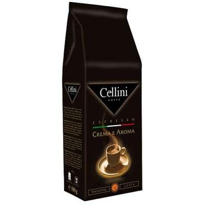 Кофе в зернах натуральный жареный Crema Aroma Cellini 500 гр, фото 1