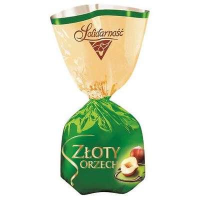 Шоколадные конфеты Ласковый орех Solidarnosc 1 кг, фото 2