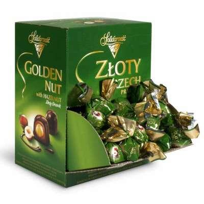 Шоколадные конфеты Ласковый орех Solidarnosc 2,5 кг, фото 1