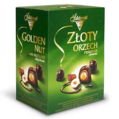 Шоколадные конфеты Ласковый орех Solidarnosc 2,5 кг, фото 2