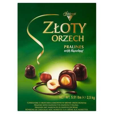 Шоколадные конфеты Ласковый орех Solidarnosc 2,5 кг, фото 3