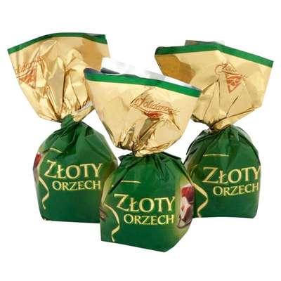 Шоколадные конфеты Ласковый орех Solidarnosc 1 кг, фото 1