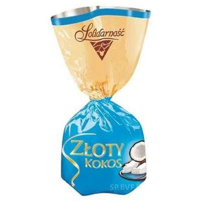 Шоколадные конфеты с кокосом Коко-Коко Solidarnosc 1 кг, фото 1