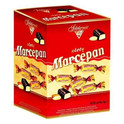 Конфеты Золотой Марципан Solidarnosc 3 кг, фото 1