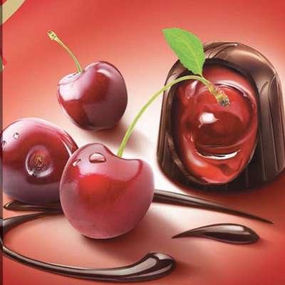 Zlota Wisnia Конфеты шоколадные с вишней в ликёре Solidarnosc коробка жесть 365 гр, фото 5