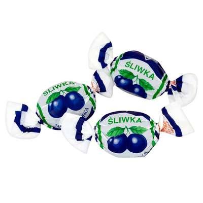 Наленчовская слива шоколадные конфеты Solidarnosc банка жесть 250 гр, фото 3