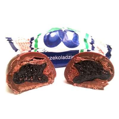 Наленчовская слива шоколадные конфеты Solidarnosc банка жесть 250 гр, фото 4