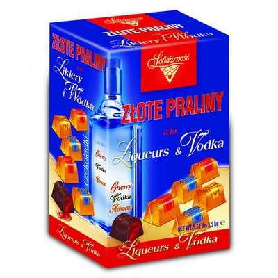 Ликерные шоколадные конфеты Ликеры и Водка Solidarnosc 1 кг, фото 1