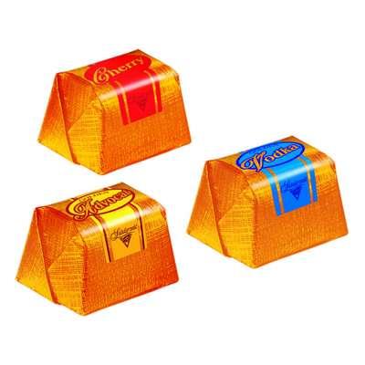 Коробка шоколадных конфет Ликеры и водка Solidarnosc 188 гр, фото 2