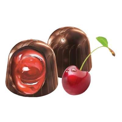 Zlota Wisnia Конфеты шоколадные с вишней в ликёре Solidarnosc коробка жесть 365 гр, фото 4