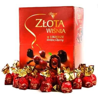 Ликерные шоколадные конфеты Вишни в ликёре Solidarnosc 1 кг, фото 1
