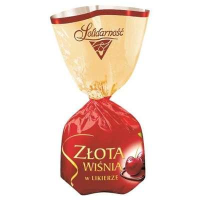 Ликерные шоколадные конфеты Вишни в ликёре Solidarnosc 100 гр, фото 3